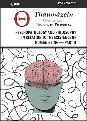 View Vol. 7 (2019): Psychopathology and Philosophy in Relation to the Existence of Human Being Part II