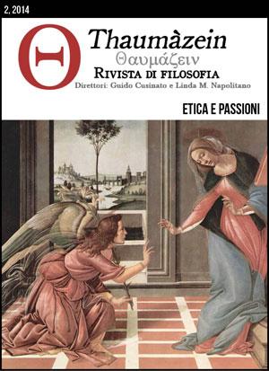 View Vol. 2 (2014): Etica e Passioni